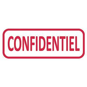 Tampon formule Trodat 4912 - confidentiel - encrage automatique