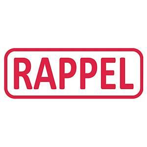 Tampon formule Trodat 4912 - rappel - encrage automatique