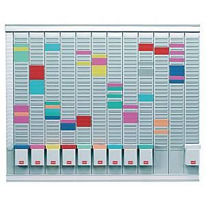 Planning Nobo pour fiche T - 13 colonnes - 80 x 60 cm