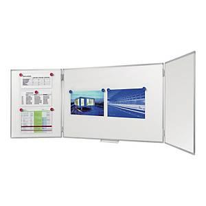 Tablica suchościeralna LEGAMASTER Premium Plus tryptyk,  90 x 240 cm