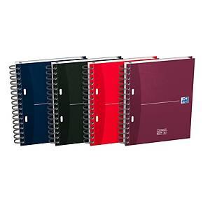 Cuaderno de espiral Oxford Essentials --A5+ - 100 hojas - cuadriculado