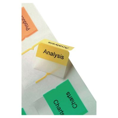 graphic relating to Printable Index Tabs called Avery printable index tabs - pack of 96