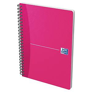 Cahier spiralé Oxford Office Soft Cover A5, carreaux 5 x 5 mm, 90 feuilles