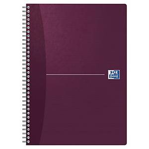 Cahier spiralé Oxford Office Soft Cover A4, carreaux 5 x 5 mm, 90 feuilles