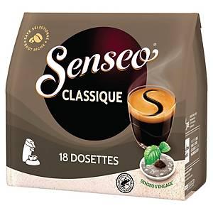 Café Senseo Classique - paquet de 18 dosettes