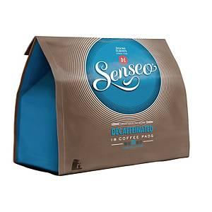 Senseo dosettes café décaféine 7g - paquet de 18