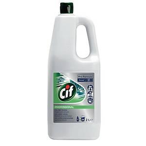 Detersivo multiuso Cif gel con candeggina 2 L