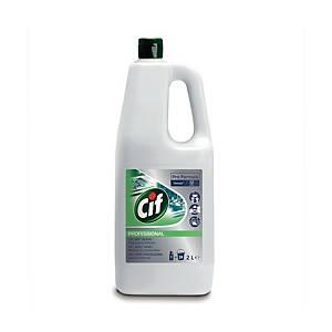 Cif professionele allesreiniger met bleekmiddel, per fles van 2 l