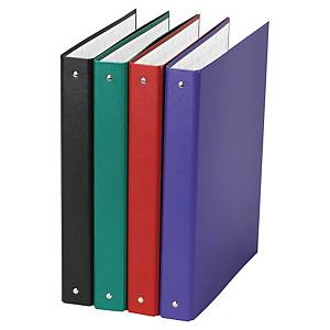 PK10 EXACOMPT 4-RING BINDER PP 30MM ASST