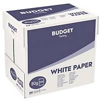 Papier blanc A4 Lyreco Budget - 80 g - carton 2500 feuilles