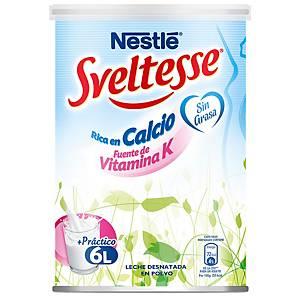 Bote de leche desnatada en polvo Sveltesse - 600 g