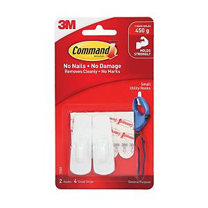 3M Command Adhesive Hook Small - 0.45kg Capacity