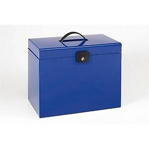 Maleta Esselte con 5 carpetas colgantes - A4 - poliestireno - azul