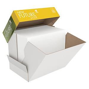 Papir til sort/hvid-print New Future Lasertech, med hul, A4, 80 g 2.500 ark