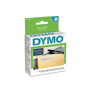 Dymo LW Large Return Address Labels, 25mm X 54mm, Roll of 500