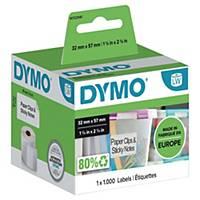 Etykiety do drukarek DYMO® LabelWriter™ uniwersalne, 32x57 mm, 1000 etykiet