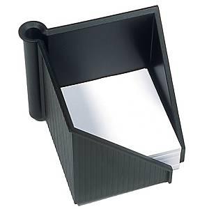 Notizzettel-Box Helit H63040, mit 500 Blatt weiß, Maße: 127 x 108 x 127mm, swz