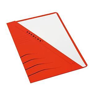 Jalema Secolor chemises à poche carton 270g rouge - paquet de 100