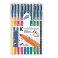 Staedtler Triplus 323 kuitukärkikynä 1,0mm, 1 kpl=10 kynää
