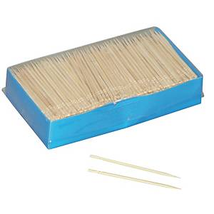 Wooden toothpicks - pack of 1000