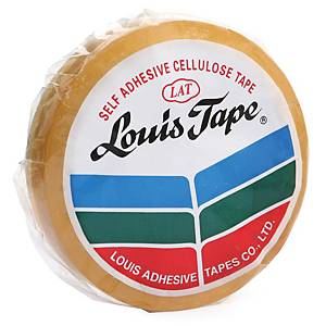 LOUIS เทปใส3/4นิ้ว x 36หลา แกน 3 นิ้ว