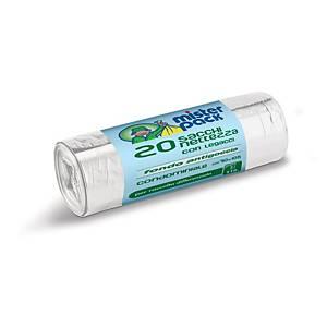 Sacchi spazzatura Mistersack 110 L trasparente - conf. 20