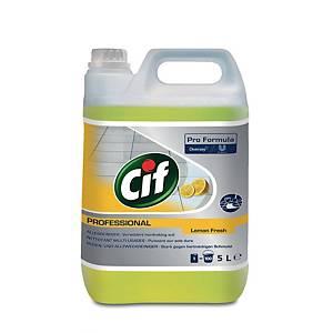 Cif Professional produit de nettoyage multi-usages 5 l citron