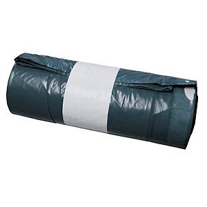 Garbage bags with drawstring closing 120 L - roll of 20