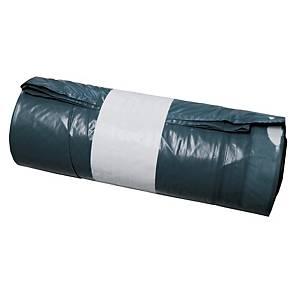 Sacs poubelle à poignées coulissantes, 120 l, 70 x 100 cm, rouleau de 20 sacs