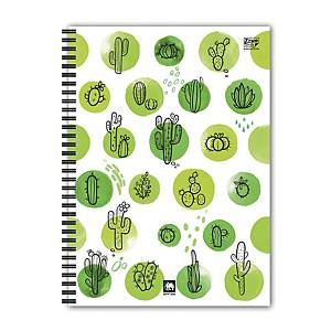 ELEPHANT WPPG-444 WIREBOUND PP NOTEBOOK GREEN COVER B5 70G 60 SHEETS
