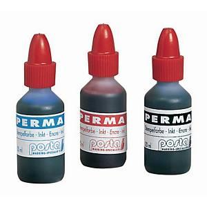 Ink for permanent stamp bottle 20 ml black