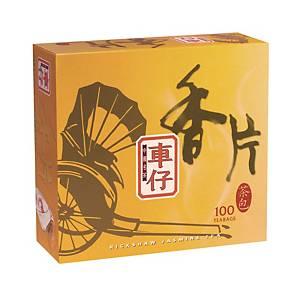 Rickshaw 車仔 香片茶包 - 100包裝