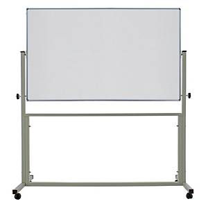 APEX 2 SIDED WHEEL WHITEBOARD 120 X 180CM