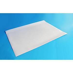 PVC Sticker 53X70cm White