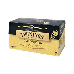 TWININGS Earl Grey Tea Bags - Box of 25