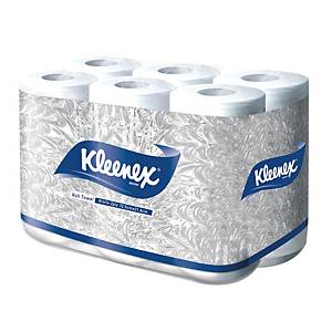 KLEENEX MULTIPURPOSE TOWEL ROLLS 100 SHEETS - PACK OF 6