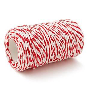 เชือกขาวแดง ยาว 20 เมตร