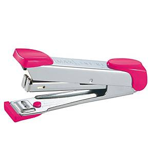 MAX เครื่องเย็บกระดาษ HD-10 สีชมพู