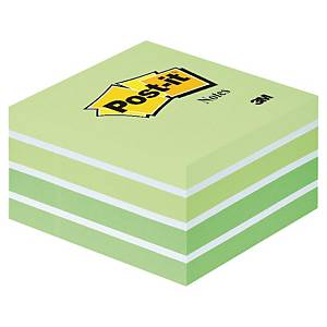 3M POST-IT NOTE CUBE COOL GREEN 450 SHEETS
