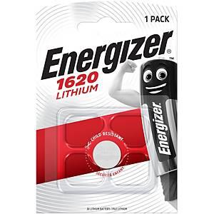 Piles Energizer Lithium CR1620, pile bouton, 3 V