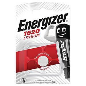 Knapcelle batteri Energizer CR1620, lithium, 3V