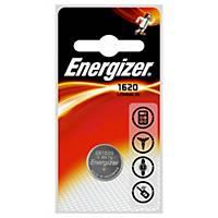Pila de botón Energizer CR1620 de litio - 3 V