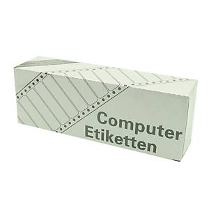Z-LABEL 3711 點陣式打印標籤 89 x 36毫米 每盒4000個標籤