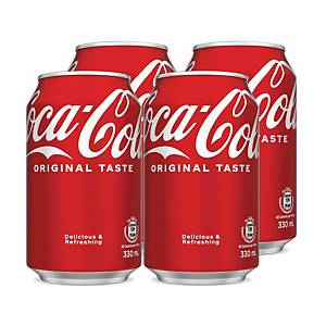 Coca Cola 330ml - Pack of 4