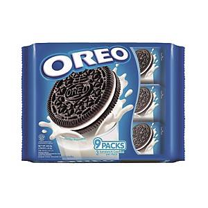 Oreo Choco Sandwich Cookies - Pack of 9