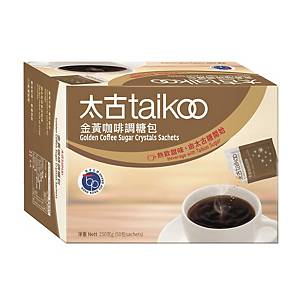 Taikoo Golden Coffee Sugar Crystal Sachets 5g - Box of 50