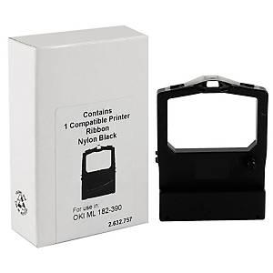 Oki ML182-390 värinauha musta