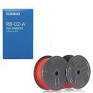 Casio RB-02 Ink Roller Red/Black