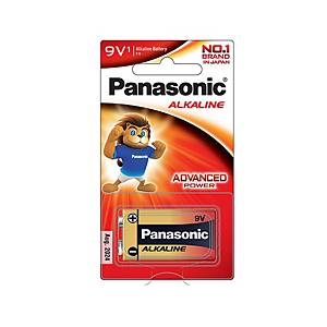 PANASONIC 6LR61T/1B ALKALINE BATTERY 9V