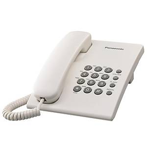 PANASONIC โทรศัพท์ KX-TS500MX สีขาว